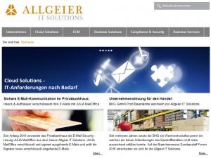 Allgeier IT -Solutions Logo
